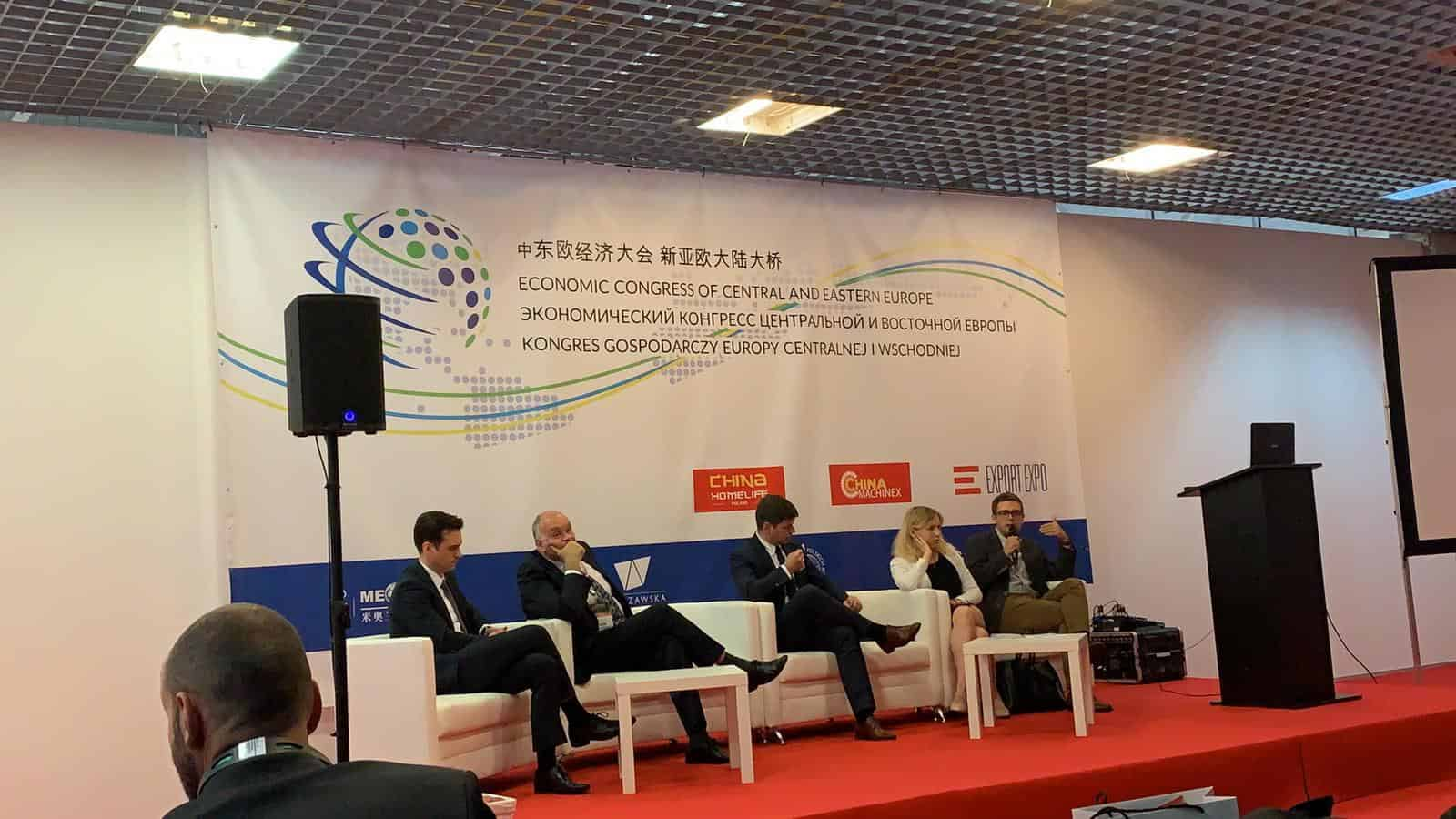 III Kongresie Gospodarczym Europy Centralnej IWschodniej 2