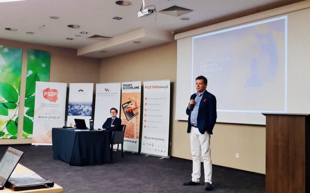 Sebastian Pietrzyk naLubelskim Kongresie Prawa Zamówień Publicznych
